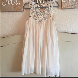 Summer wedding Chelsea and Violet gem dress